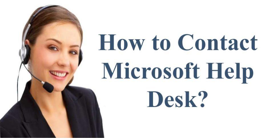 Contact Microsoft Help Desk