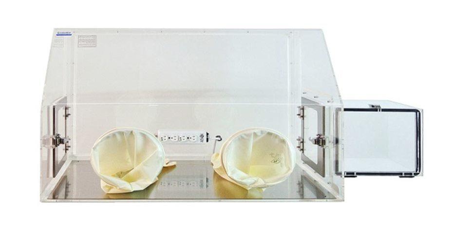plastic laboratory glove boxes