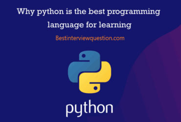 python is best programing