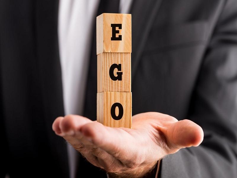 Avoid becoming egoistic